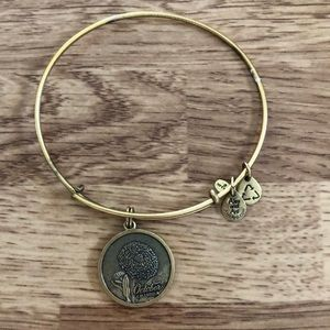 Alex and Ani October birth flower